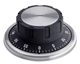 Cilio Premium Safe Style Timer With Magnetic Base, Black
