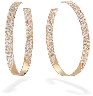 Lana 14k Vanity Inside-Outside Diamond Hoop Earrings