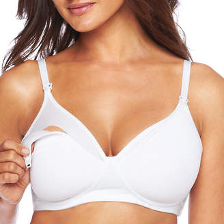 JCPenney Spencer Microfiber Wireless Padded Nursing Bra
