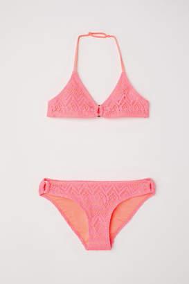 H&M Triangle Bikini - Pink