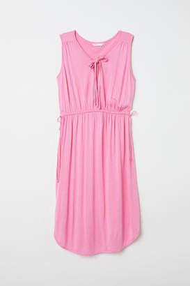 H&M MAMA Jersey Dress - Pink