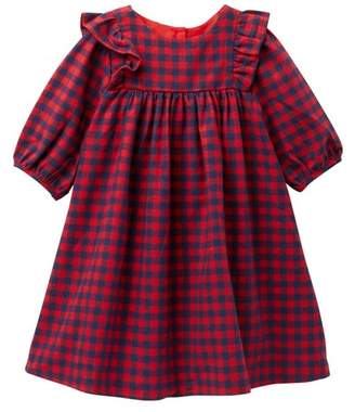 Pippa Pastourelle by and Julie Plaid Ruffle Dress (Toddler Girls)