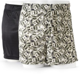 Men's Croft & Barrow® 2-pack Solid & Novelty Microfiber Knit Boxers $26 thestylecure.com