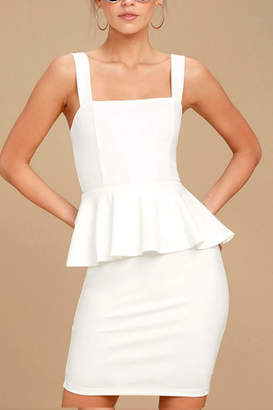 Factory Unknown White Dress