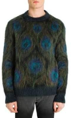 Alexander McQueen Peacock Crewneck Sweater