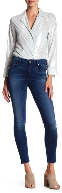 7 For All Mankind7 For All Mankind Mid Rise Ankle Skinny Jean