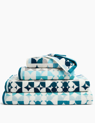 Marks and Spencer Cotton Multi Circular Print Towel