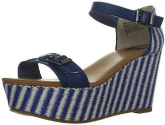 BC Footwear Women's Salt N Pepper Wedge Sandal