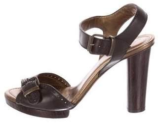 Lanvin Leather Brogue Sandals