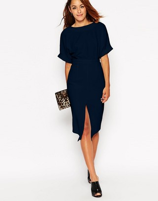 ASOS Wiggle Dress with Split Front $50 thestylecure.com