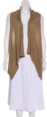 Rick Owens Merino Wool Open Front Vest