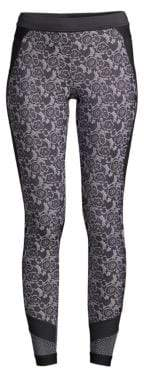 adidas by Stella McCartney Floral Run Tights