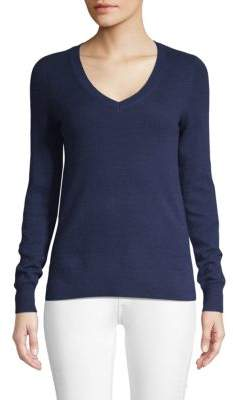Saks Fifth Avenue Long-Sleeve Cashmere Top