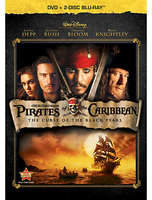 Disney Pirates of the Caribbean: The Curse of the Black Pearl - 3-Disc Set
