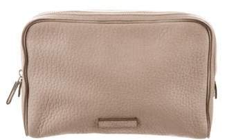 Calvin Klein Collection Textured Leather Pouch