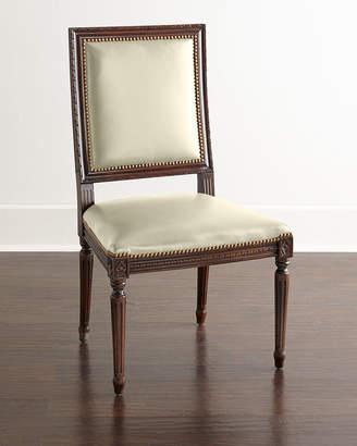 C6 Massoud Ingram Leather Dining Chair,