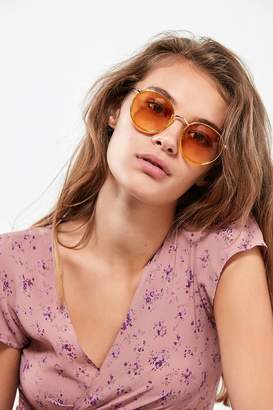 Urban Outfitters Charlie Metal Round Sunglasses