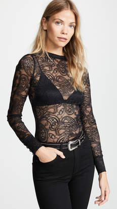 For Love & Lemons Belle Lace Blouse