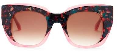 THIERRY LASRY Women's Intimacy Cat Eye Acetate Frame Sunglasses