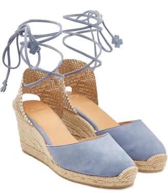 Blue Suede Wedge Shoes Shopstyle Australia