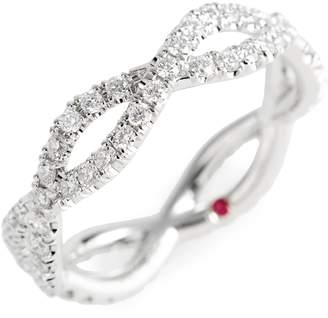 Roberto Coin Diamond Infinity Ring