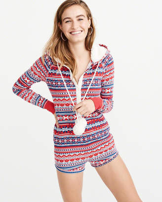 Abercrombie & Fitch Waffle Romper