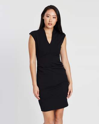 Dorothy Perkins Riley Ruched Side Pencil Dress