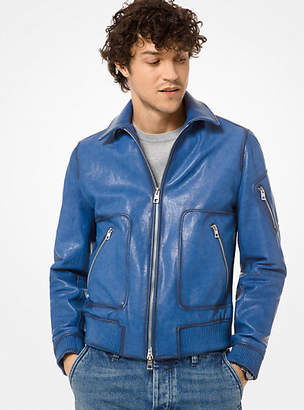 Nappa Leather Flight Jacket
