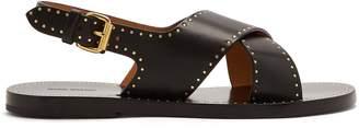 Isabel Marant Jane cross-strap stud-embellished sandals