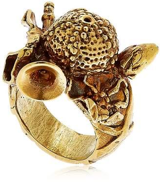 Montevertine Decori Still Life With Sea Urchin & Flute Ring