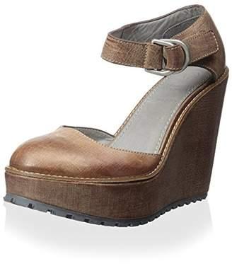 Brunello Cucinelli Women's Platform Wedge with Ankle Strap