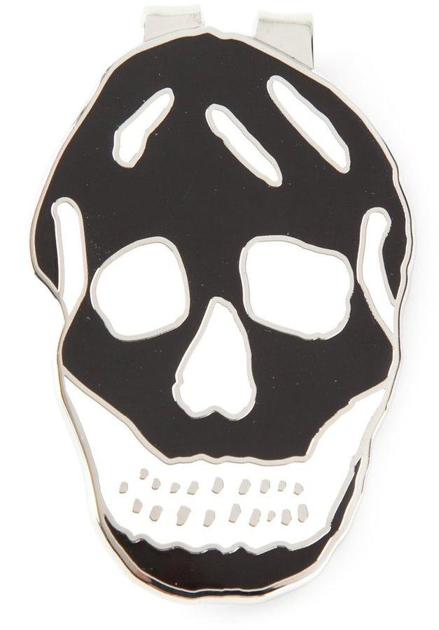 Alexander McQueenAlexander McQueen skull money clip
