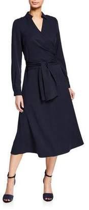 Kobi Halperin Andie Self-Tie Wrap Dress