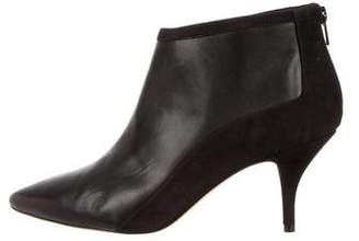 Loeffler Randall Leather & Suede Ankle Boots w/ Tags