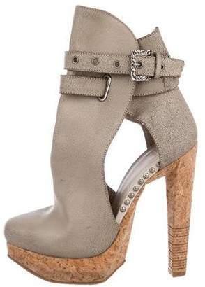 Herve Leger Fabiana Platform Ankle Boots