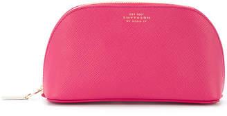 Smythson zip cosmetic bag
