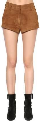 Saint Laurent Suede Shorts