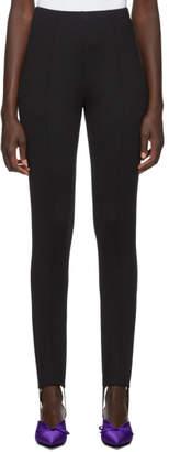 Balenciaga Black Stirrup Jogger Pants