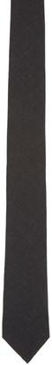 Thom Browne Grey Classic Wool Tie $190 thestylecure.com