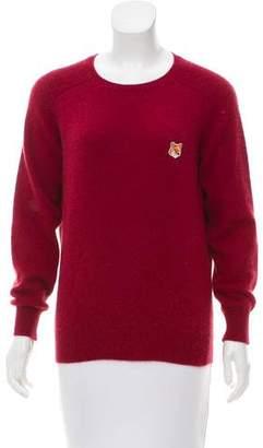 MAISON KITSUNÉ Angora Knit Sweater