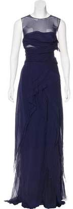 J. Mendel Sleeveless Maxi Dress