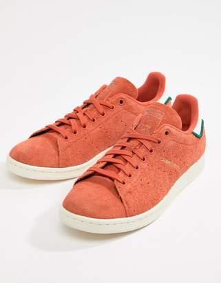adidas Stan Smith Sneakers In Orange CQ3091