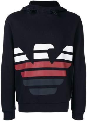 Emporio Armani printed sweatshirt