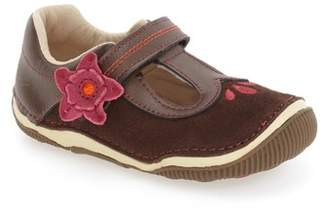 Stride Rite Tegan Mary Jane - Wide Width Available (Baby & Toddler)