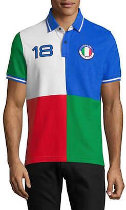 Tommy Hilfiger Canada Colourblock Short Sleeve Polo