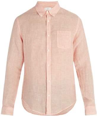 Onia Jay linen-blend shirt