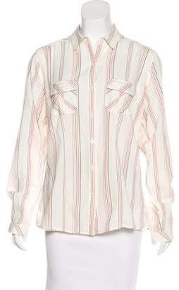 Patagonia Striped Cotton Button-Up