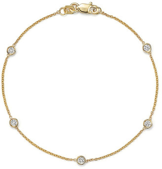 LeVian Suzy Diamonds Suzy By The Yard 14K 0.50 Ct. Tw. Diamond Station Bracelet
