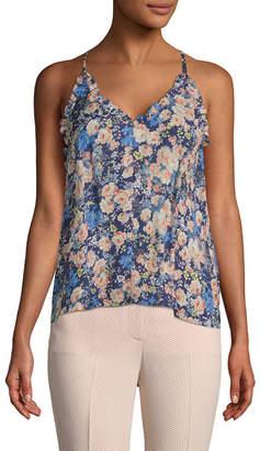 Rebecca Taylor Gigi Silk Floral Camisole