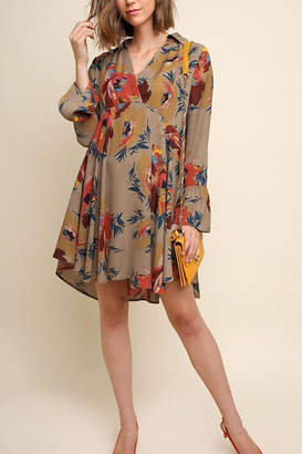 Umgee USA Collard Dress